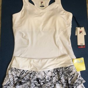 NWT FILA tennis / golf outfit tank & skirt